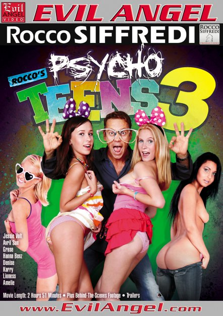 Rocco's Psycho Teens #03 Dvd Cover