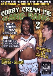 Curry Cream Pie Gang Bang #02 DVD Cover