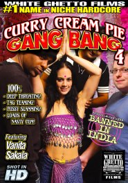 Curry Cream Pie Gang Bang #04 DVD Cover