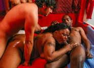 Big Black Gang Bang #02, Scene #01