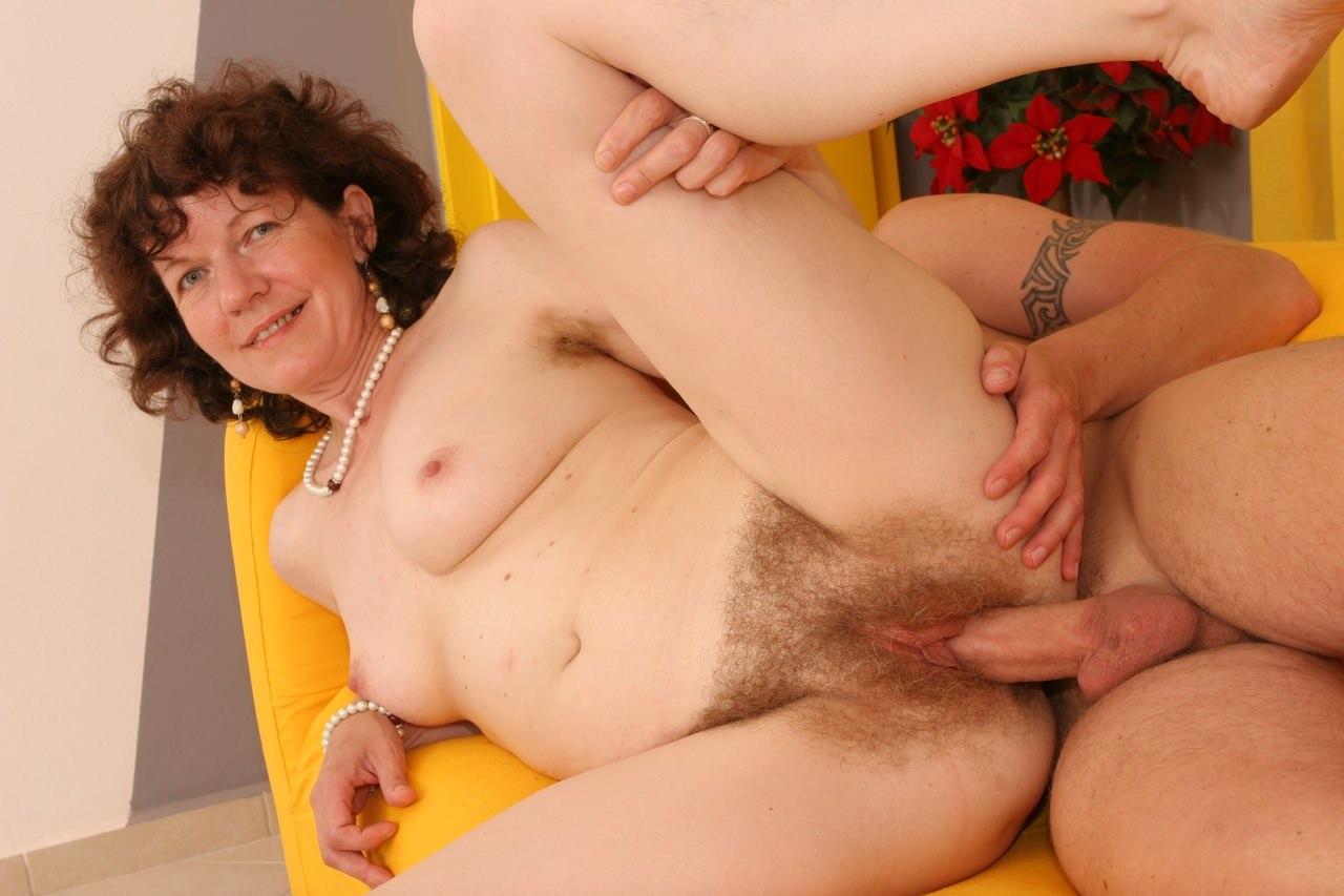 секс старых волосатых