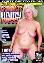 Grandma's Hairy Pussy DVD Cover