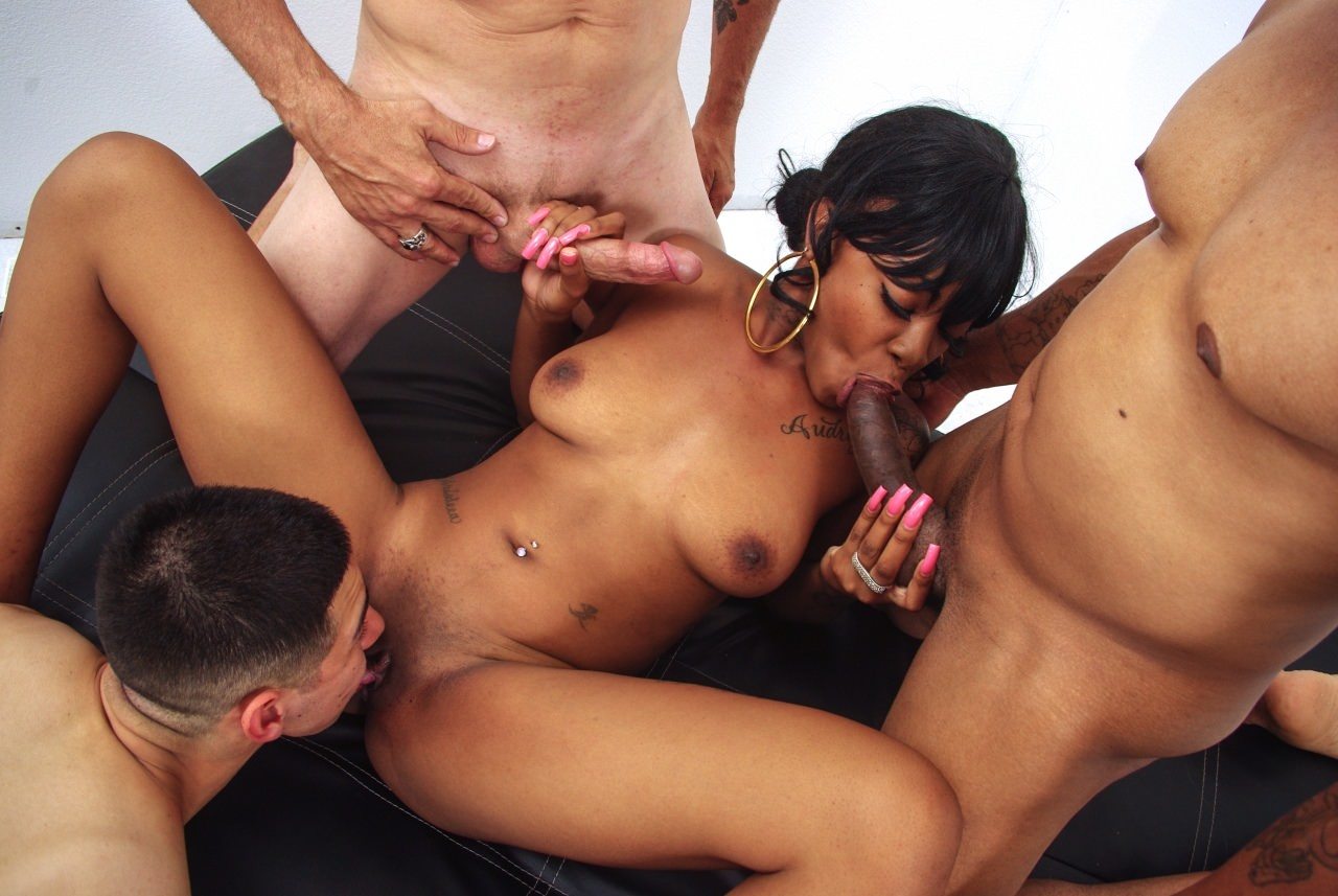 White ghetto mature gangbang
