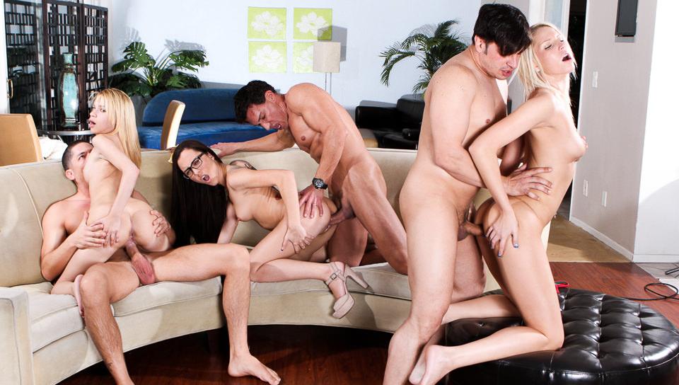 Free full length orgy video