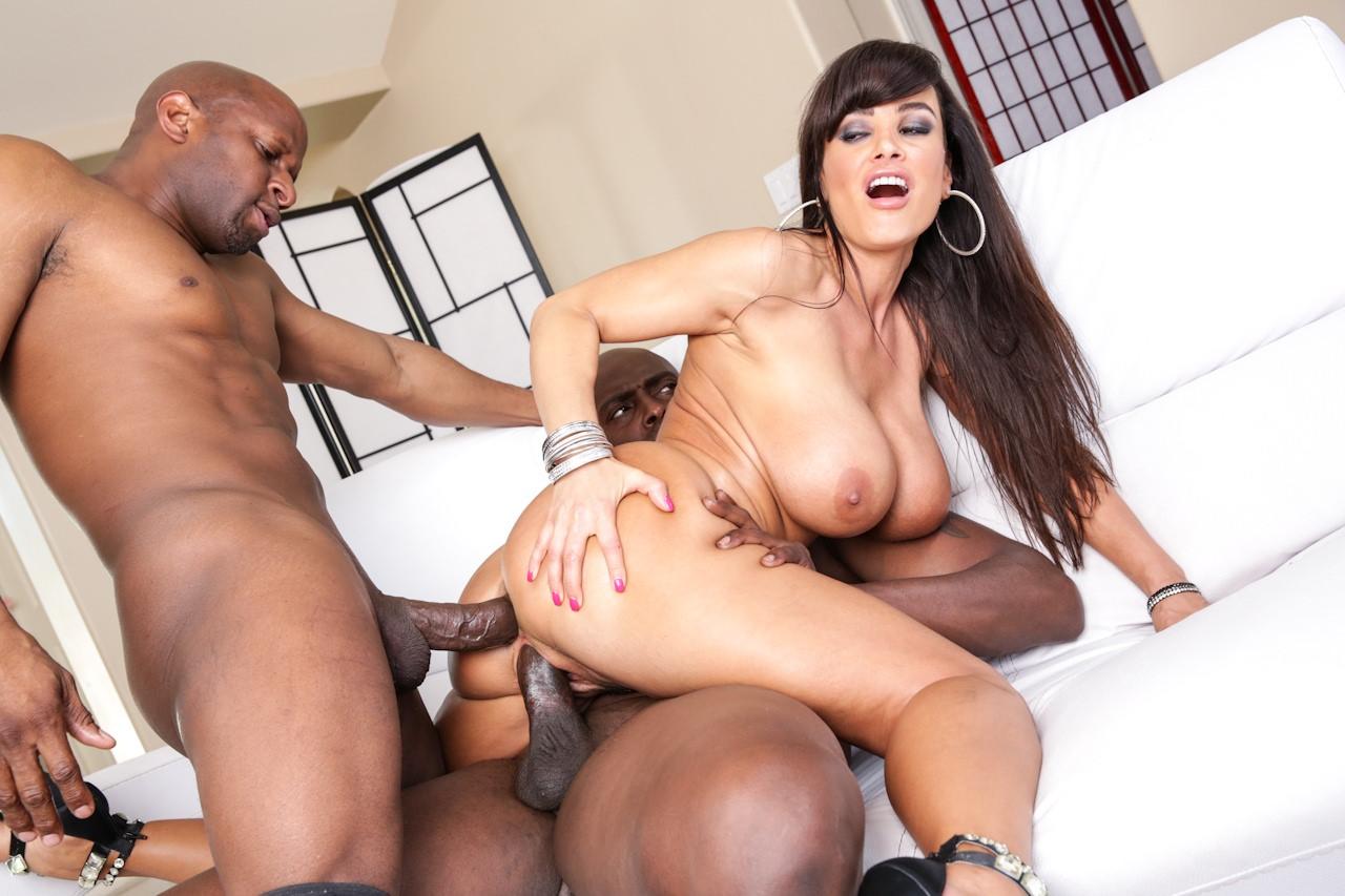 Lisa ann threesome