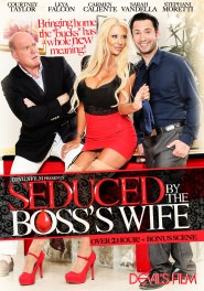 Seduced By The Boss's Wife DVD Cover