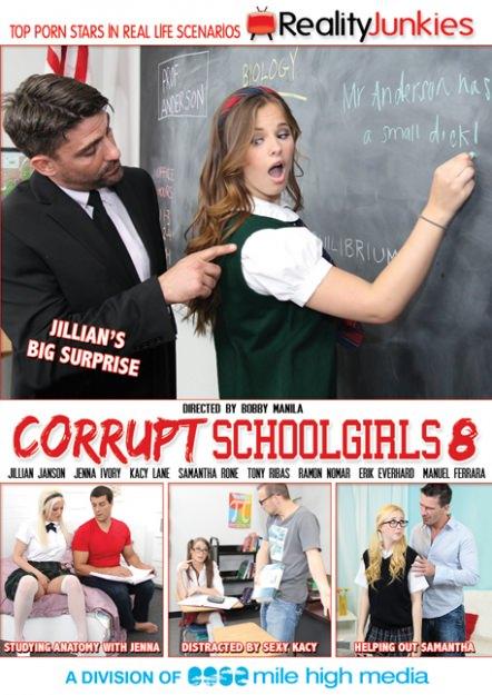 Corrupt Schoolgirls #08 Dvd Cover