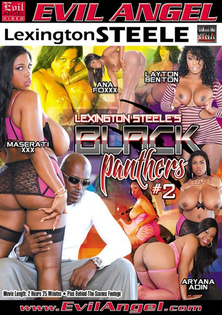 Black Panthers #02 Dvd Cover