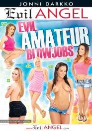 Evil Amateur Blowjobs DVD Cover