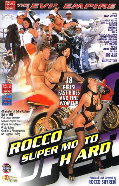 Rocco Super Moto Hard Dvd Cover