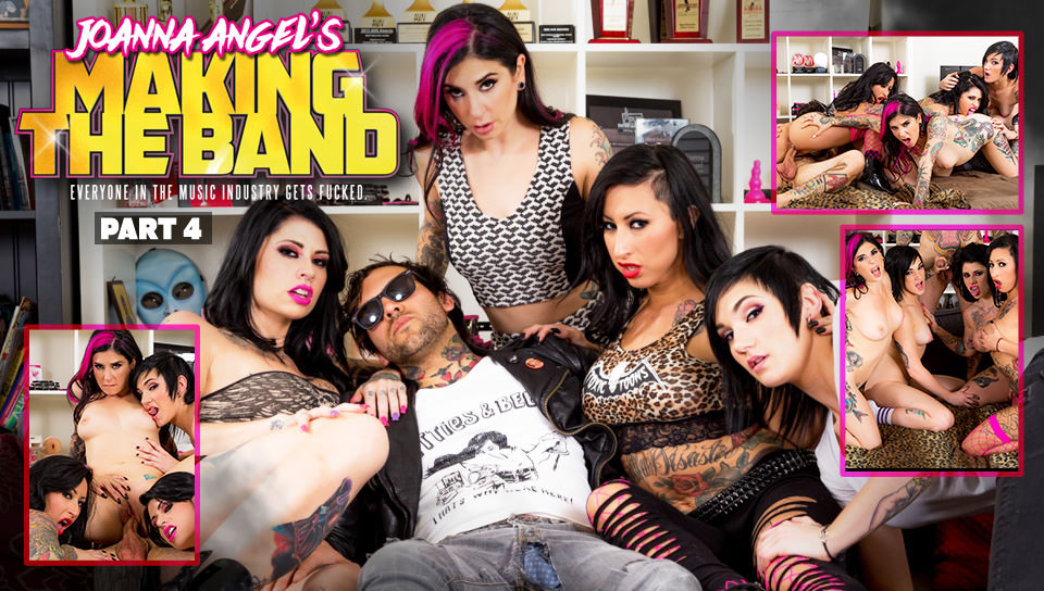 Making The Band XXX-Part 4 – Joanna Angel, Jordyn Shane, Lily Lane, Nikki Hearts