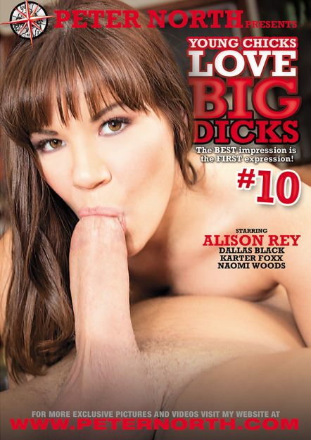 Young Chicks Love Big Dicks #10 Dvd Cover