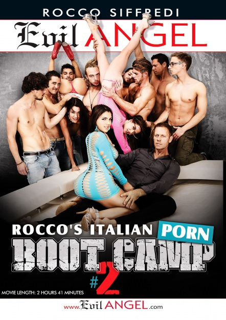Rocco's Italian Porn Boot Camp #02 Dvd Cover