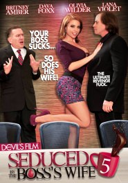 Seduced By The Boss Wife #05 DVD Cover