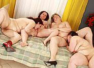 Big Fat Lesbian Orgy, Scene #2