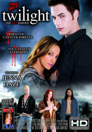 This Isn't twilight: The XXX Parody DVD Cover