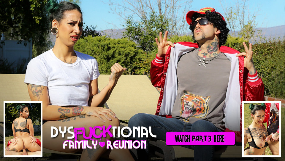DysFUCKtional Family Reunion – Part 3