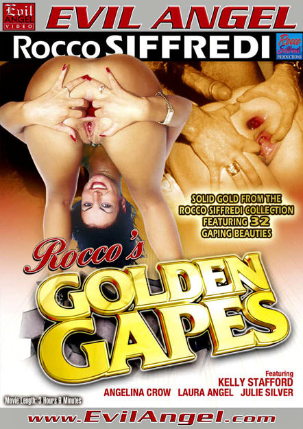 Rocco's Golden Gapes Dvd Cover