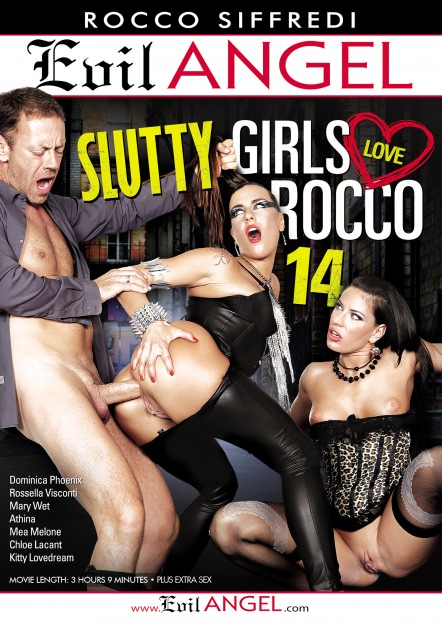 Slutty Girls Love Rocco #14 Dvd Cover