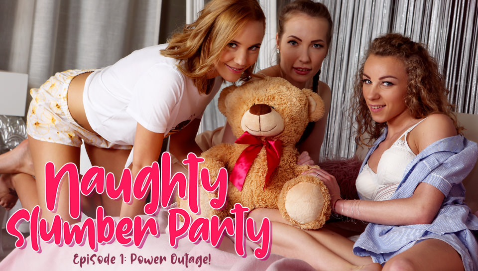 Naughty Slumber Party: Power Outage!
