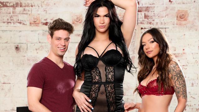 Menage A Trans #07 - April Olsen, Candice Kane & Michael DelRay