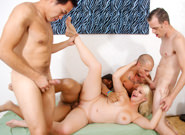 Bi Cuckold Gang Bang #09, Scene #01