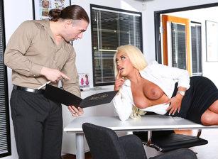 Big Tit Office Chicks, Scene #04