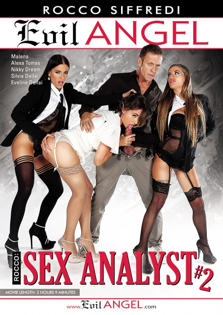 Rocco Sex Analyst #02 Dvd Cover