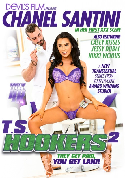 TS Hookers #02 Dvd Cover