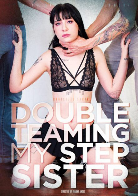 Double Teaming My Step Sister Dvd Cover