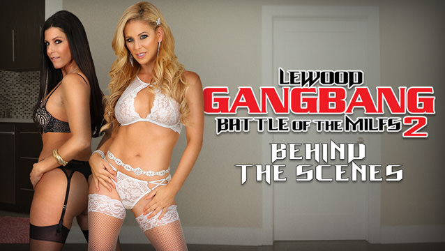 BTS-LeWood Gangbang: Battle Of The MILFs #02