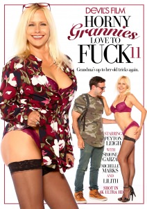 Horny Grannies Love To Fuck #11 Dvd Cover