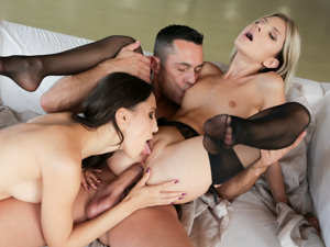 AssholeFever – Sharing From Ass Mouth – Gina Gerson , Lilu Moon