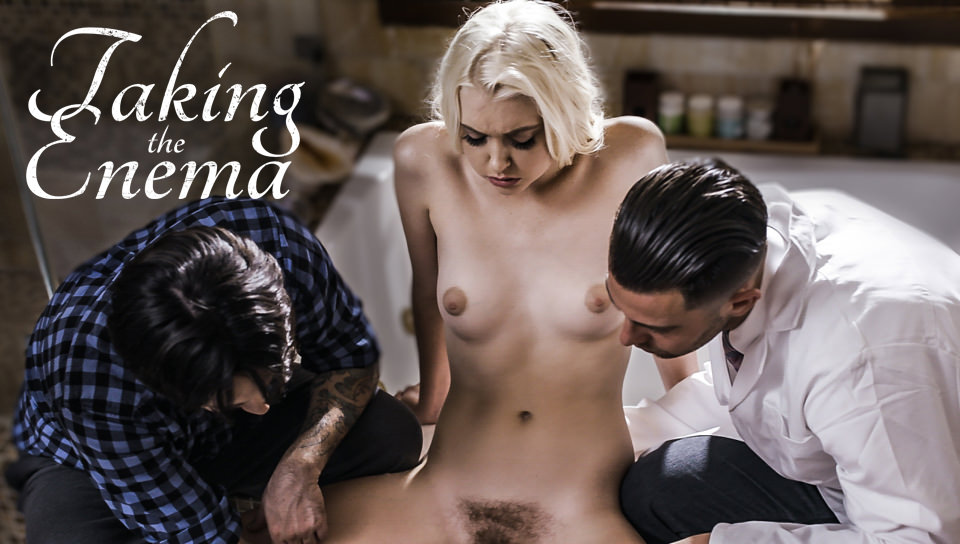 Taking the Enema – Chloe Cherry