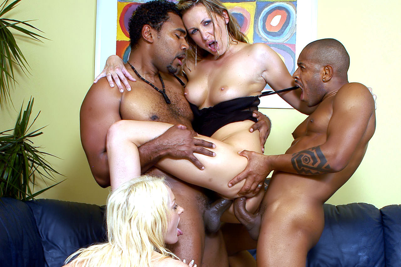 Mandy Bright Interracial Picture
