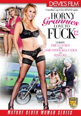 Horny Grannies Love To Fuck #12 Dvd Cover