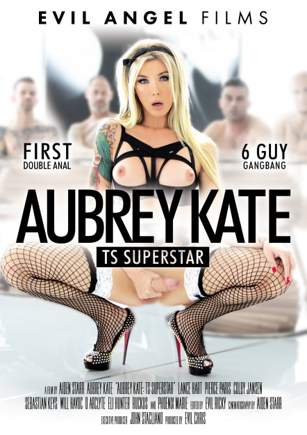 Aubrey Kate: TS Superstar Dvd Cover