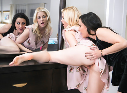 GirlsWay – That Dress – Charlotte Stokely , Georgia Jones
