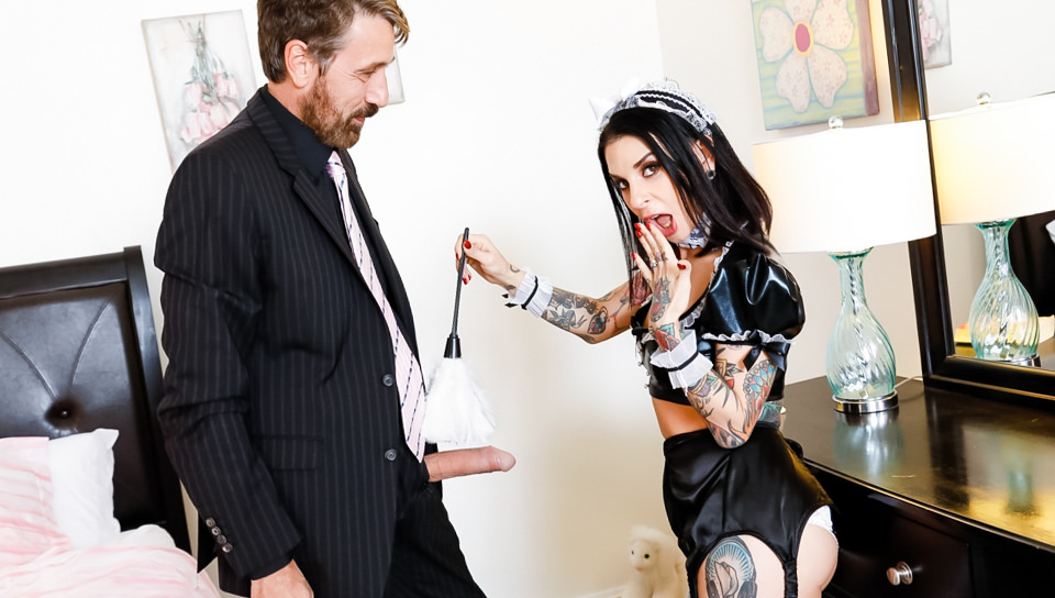 French Anal MILF Maids - Joanna Angel, Scene #01