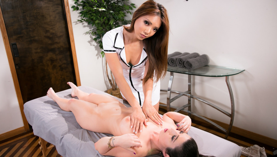 The Russian Masseuse – Serena Blair, Ayumi Anime