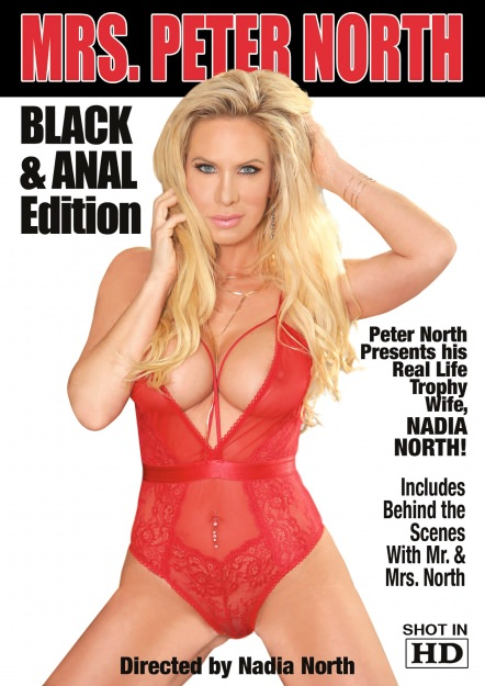 Mrs. Peter North Black and Anal Edition Dvd Cover
