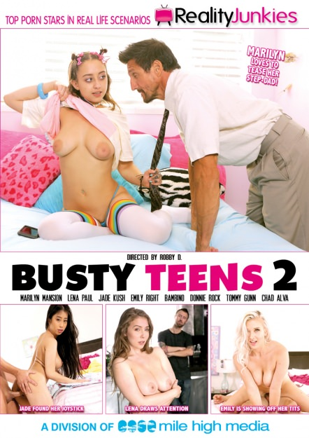 Busty Teens #02 Dvd Cover