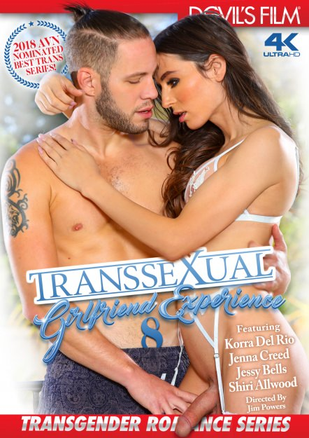 Transsexual Girlfriend Experience #08 Dvd Cover