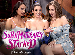 Supernaturally Stacked: I Dream Of Lezzie, Scene #01
