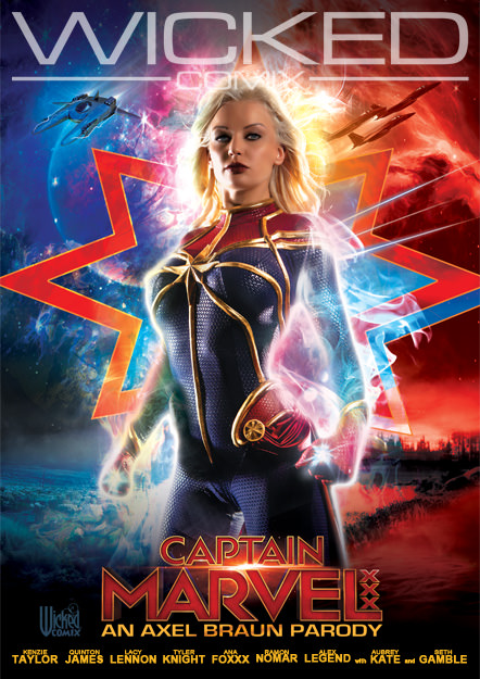 Captain Marvel Xxx An Axel Braun Parody Wicked Pictures Movie