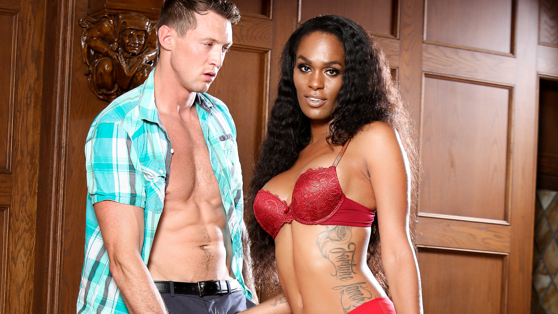 Interracial Transsexuals, Scene #04