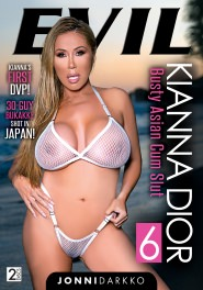 Kianna Dior Busty Asian Cum Slut #06 DVD Cover