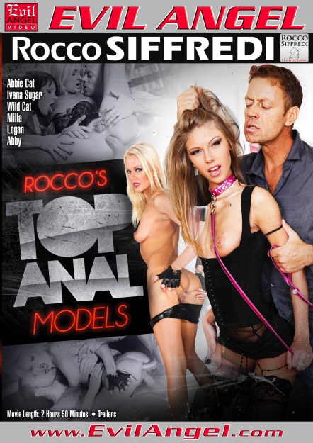 Rocco's Top Anal Models Dvd Cover
