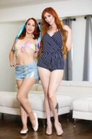 Glamour - Luna Lain & Lauren Phillips picture 1