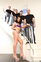 TS Gangbang Auditions - Scene 1 picture 35